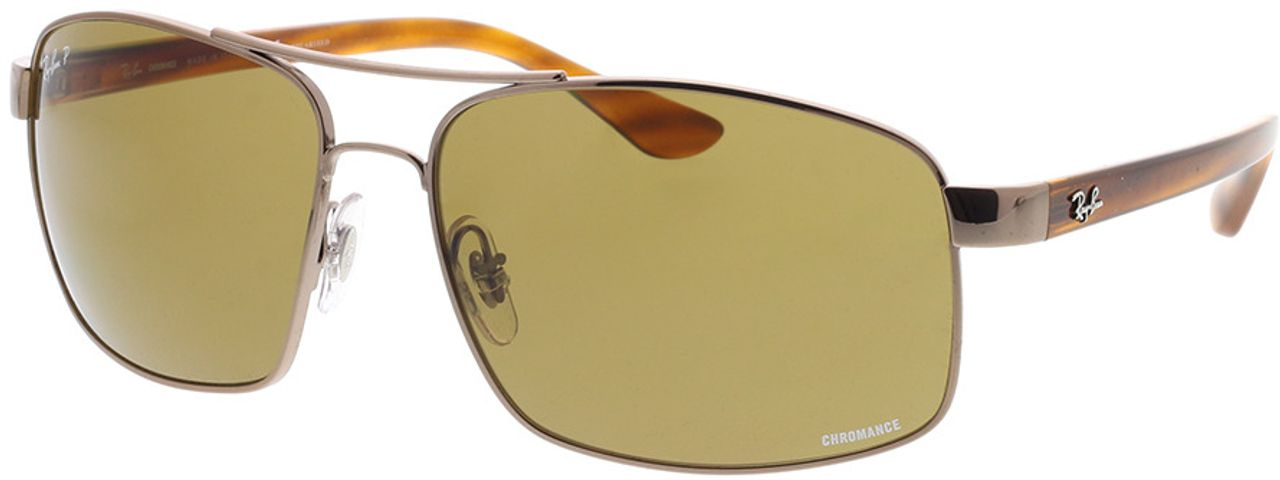 Picture of glasses model Ray-Ban RB3604CH 121/BB 62-15 in angle 330