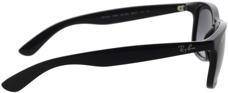 Picture of glasses model Ray-Ban Andy RB4202 601/8G 55-17 in angle 90