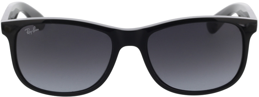 Picture of glasses model Ray-Ban Andy RB4202 601/8G 55-17 in angle 0