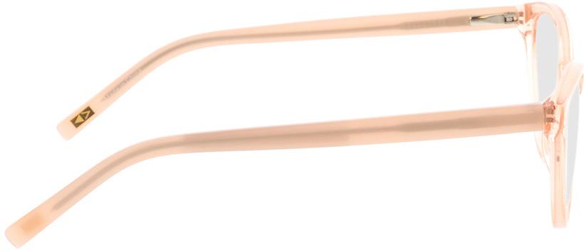 Picture of glasses model Valeria-rosa-transparent/creme in angle 90