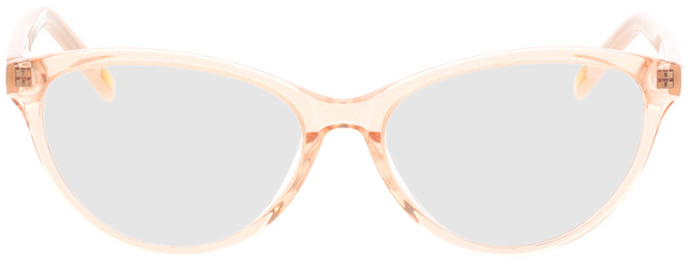 Picture of glasses model Valeria-rosa-transparent/creme in angle 0