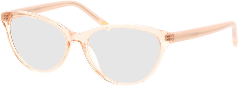 Picture of glasses model Valeria-rosa-transparent/creme in angle 330