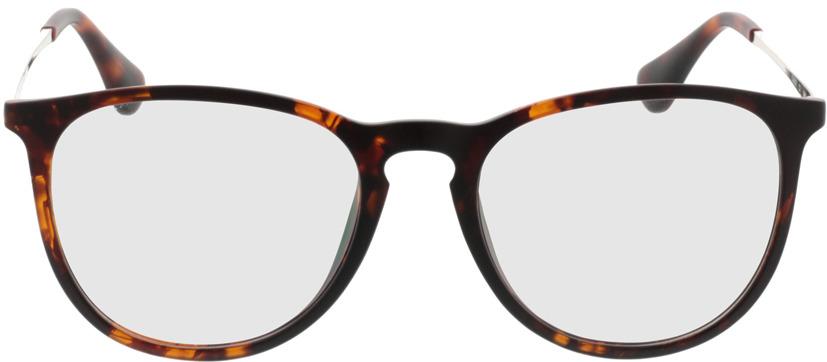 Picture of glasses model Jacksonville-brunmarbré in angle 0