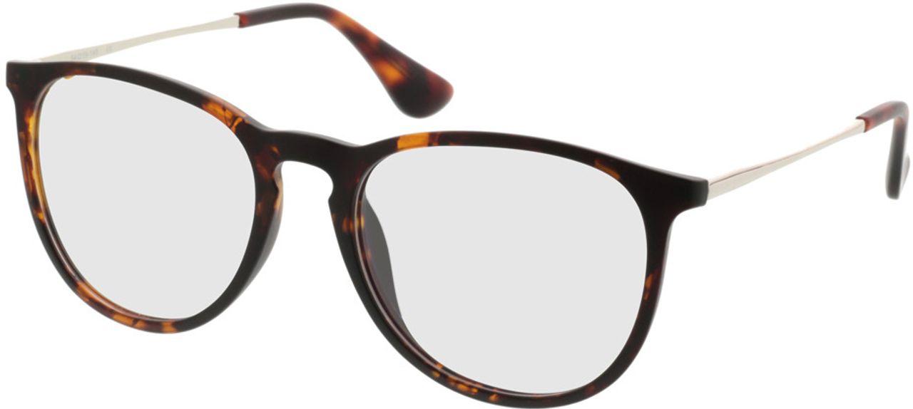 Picture of glasses model Jacksonville-braunmeliert in angle 330