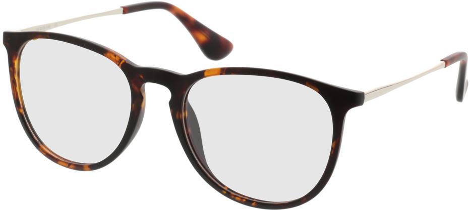 Picture of glasses model Jacksonville-brunmarbré in angle 330