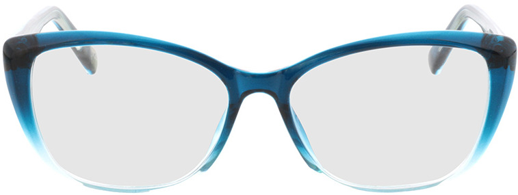 Picture of glasses model Andania-bleu-dégradé in angle 0