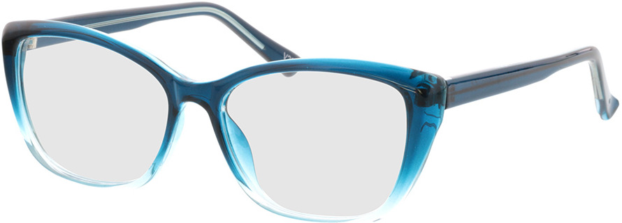 Picture of glasses model Andania-bleu-dégradé in angle 330