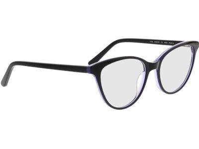Brille Andorra-schwarz/lila