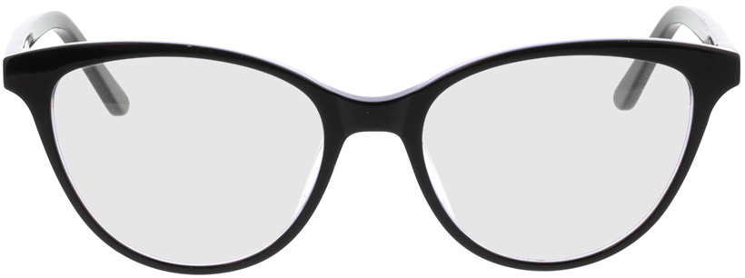 Picture of glasses model Andorra-schwarz/lila in angle 0