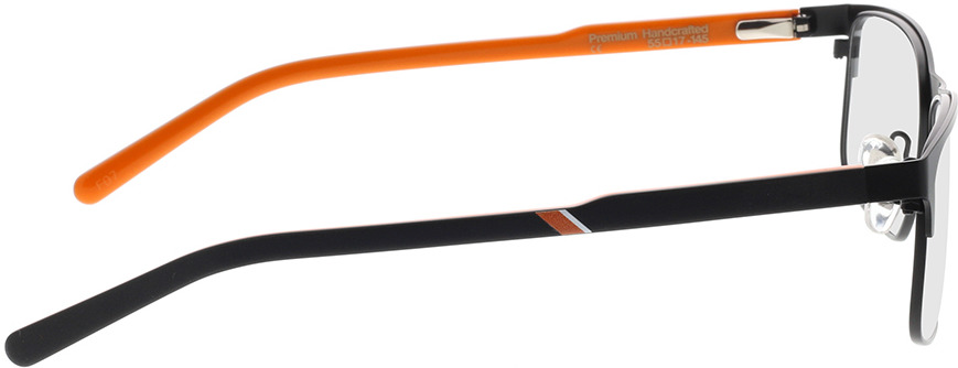Picture of glasses model Superdry SDO Josiah 004 zwart 55-17 in angle 90