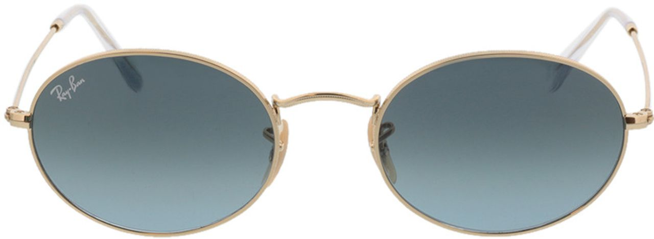 Picture of glasses model Ray-Ban Oval RB3547 001/3M 54-21 in angle 0