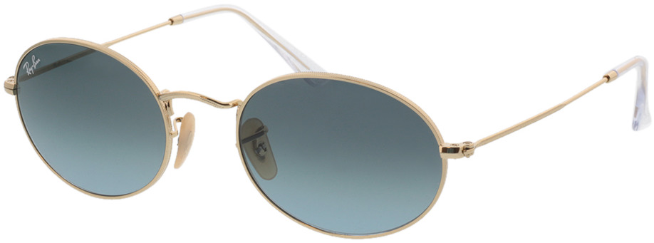 Picture of glasses model Ray-Ban Oval RB3547 001/3M 54-21 in angle 330