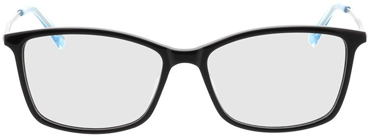 Picture of glasses model Serres-schwarz/grau/blau in angle 0