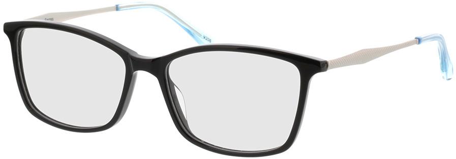 Picture of glasses model Serres-schwarz/grau/blau in angle 330