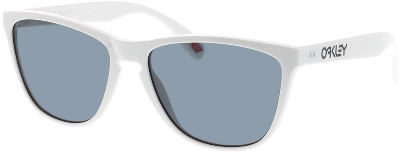 Picture of glasses model Oakley Frogskins 35th OO9444 944401 57-16 in angle 330