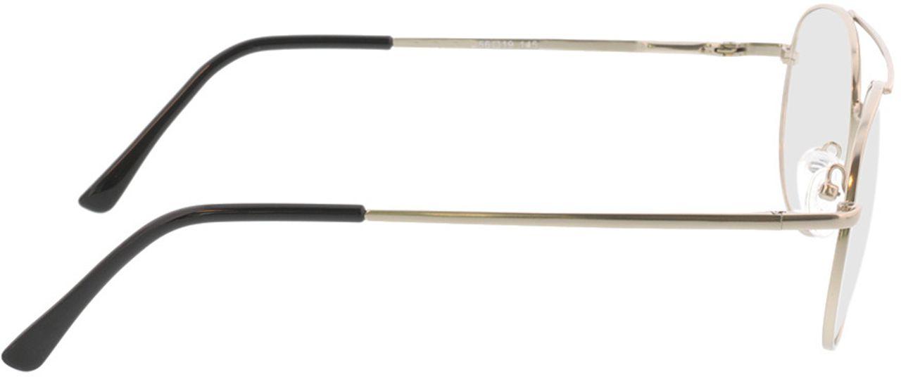 Picture of glasses model Amelio-matt silber in angle 90