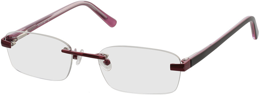 Picture of glasses model Bristol-rot in angle 330