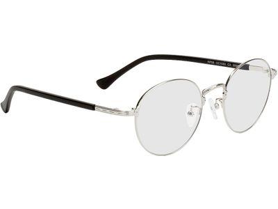 Brille Oslo-silber/schwarz