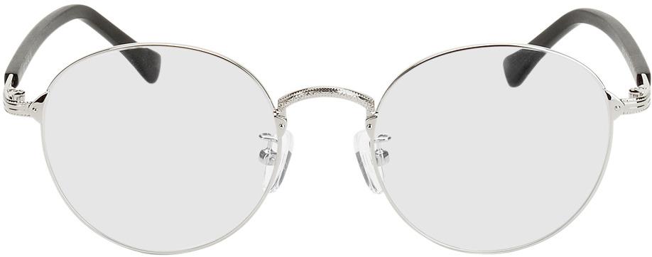 Picture of glasses model Oslo silver/black in angle 0