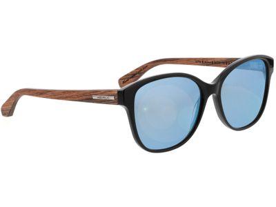 Brille Wood Fellas Sunglasses Wallerstein walnut/black 56-15