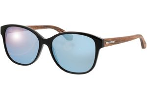 Sunglasses Wallerstein walnut/black 56-15