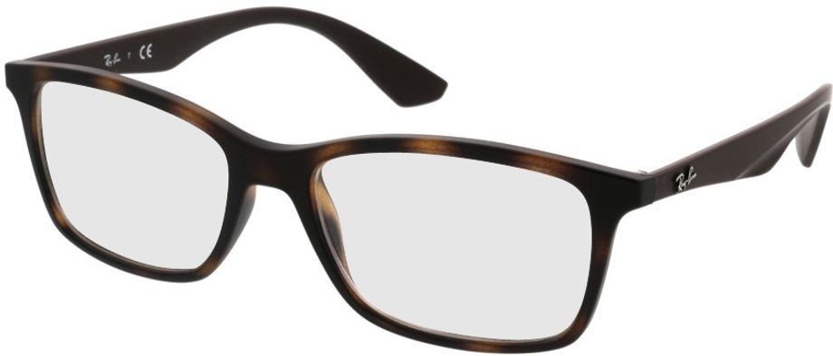 Picture of glasses model Ray-Ban RX7047 5573 54-17 in angle 330