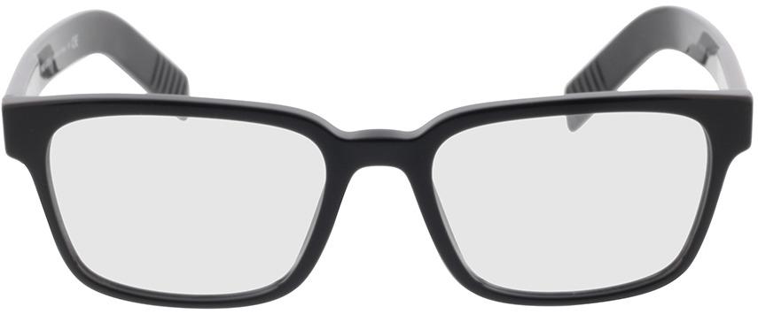 Picture of glasses model Prada PR 15WV 1AB1O1 53-18 in angle 0