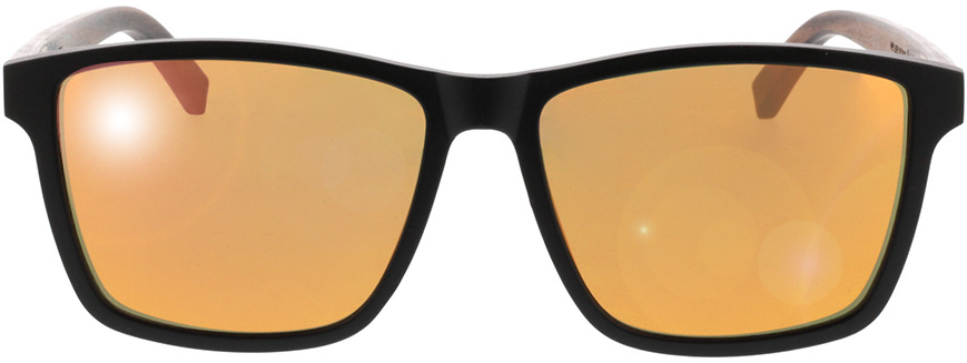 Picture of glasses model TAKE A SHOT Michel: Walnussholz 57-16 in angle 0