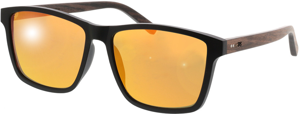 Picture of glasses model TAKE A SHOT Michel: Walnussholz 57-16 in angle 330