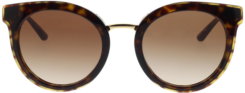 Picture of glasses model Dolce&Gabbana DG4371 502/13 52-22 in angle 0