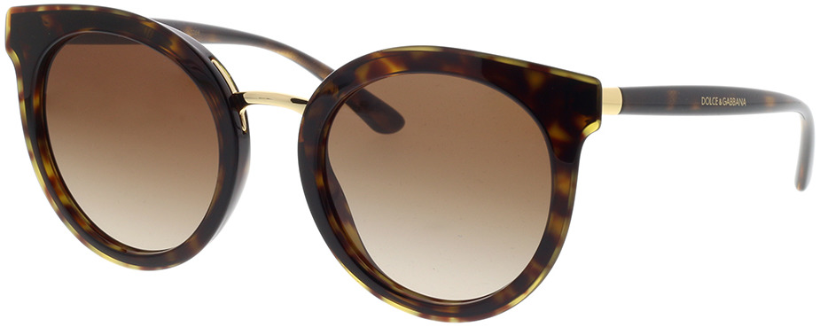 Picture of glasses model Dolce&Gabbana DG4371 502/13 52-22 in angle 330