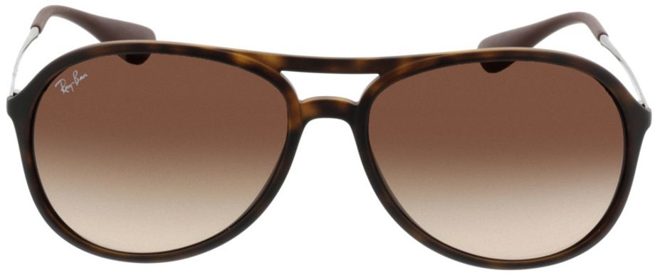 Picture of glasses model Ray-Ban Alex RB4201 865/13 59-15 in angle 0