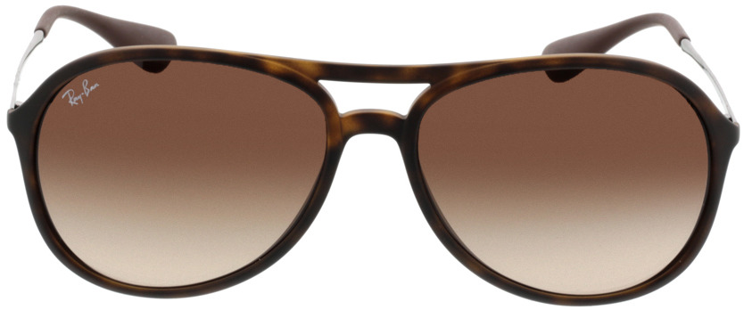 Picture of glasses model Ray-Ban Alex RB 4201 865/13 59-15 in angle 0