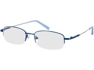 Brille Compton-blau/silber