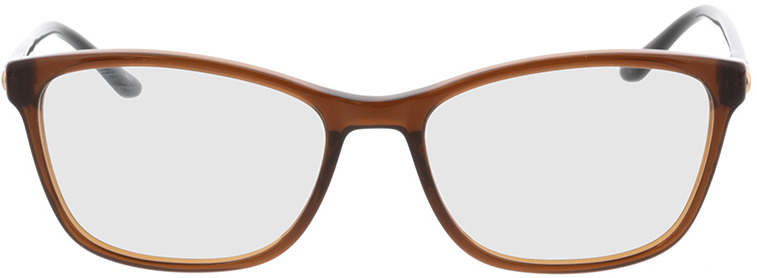 Picture of glasses model Terra-braun in angle 0