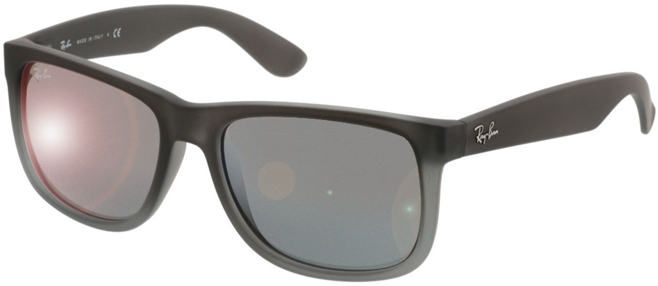 Picture of glasses model Ray-Ban Justin RB 4165 852/88 54-16 in angle 330