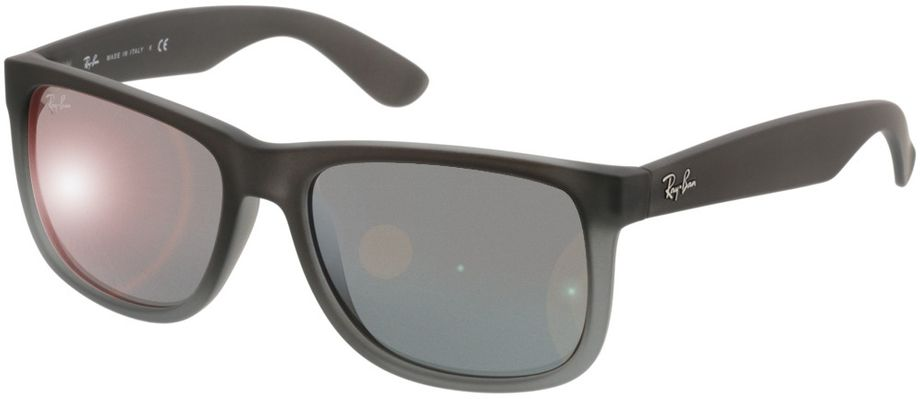 Picture of glasses model Ray-Ban Justin RB4165 852/88 54-16 in angle 330