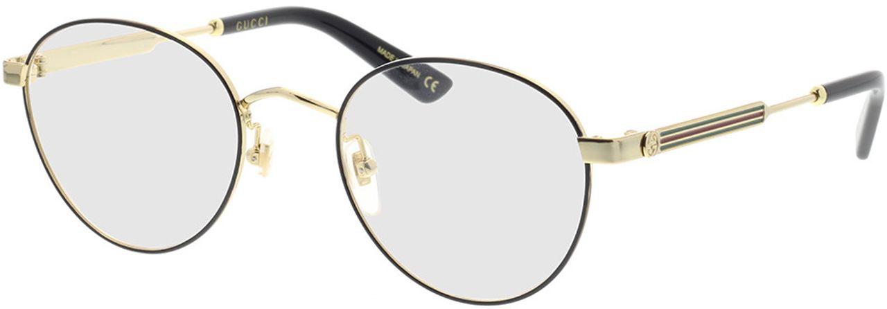 Picture of glasses model Gucci GG0290O-002 50-21 in angle 330