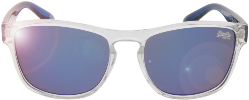 Picture of glasses model Superdry SDS Rockstar transparente/azul 54 17 in angle 0