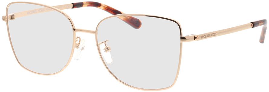 Picture of glasses model Michael Kors Memphis MK3035 1108 54-16 in angle 330