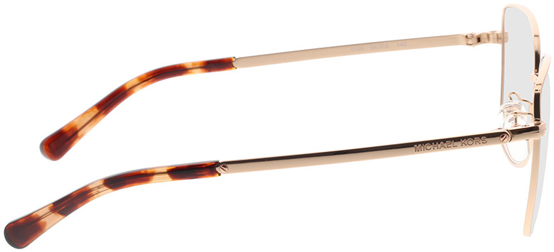 Picture of glasses model Michael Kors Memphis MK3035 1108 54-16 in angle 90