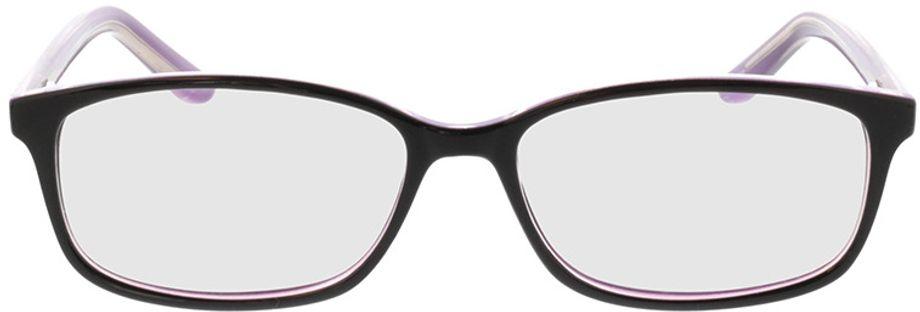 Picture of glasses model Luana-schwarz lila in angle 0