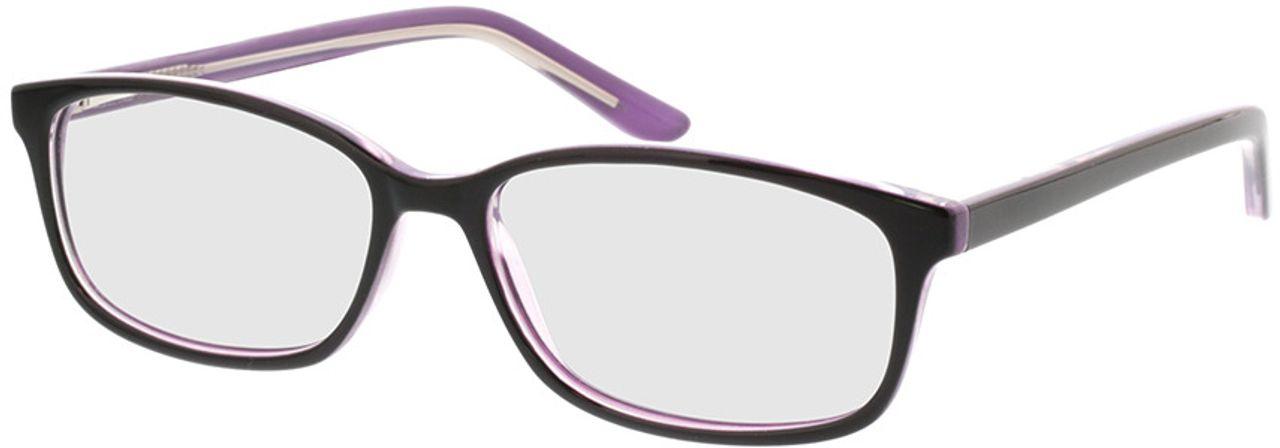 Picture of glasses model Luana-schwarz lila in angle 330