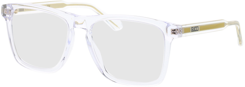 Picture of glasses model Gucci GG0561O-005 54-17 in angle 330