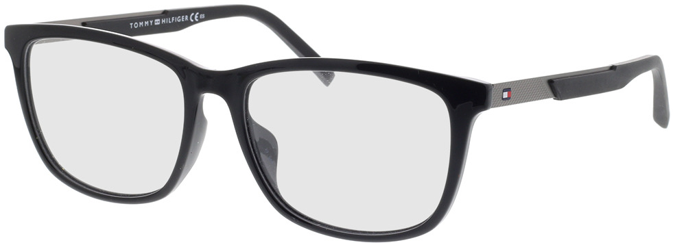 Picture of glasses model Tommy Hilfiger TH 1701/F 807 56-17 in angle 330