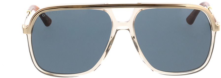 Picture of glasses model Gucci GG0200S-004 57-14 in angle 0