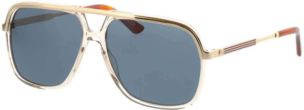 Picture of glasses model Gucci GG0200S-004 57-14 in angle 330