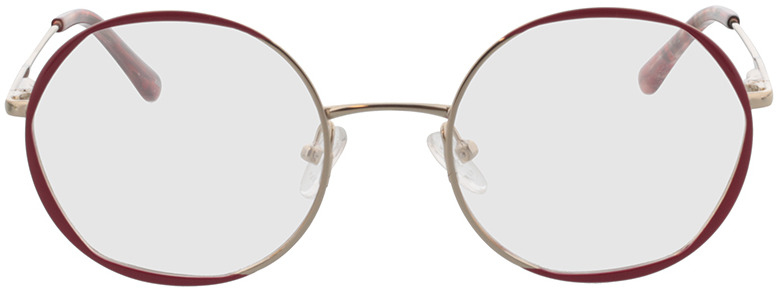 Picture of glasses model Selma-gold/rot in angle 0