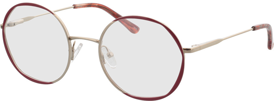 Picture of glasses model Selma-gold/rot in angle 330
