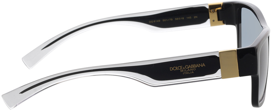 Picture of glasses model Dolce&Gabbana DG6149 501/79 56-18 in angle 90